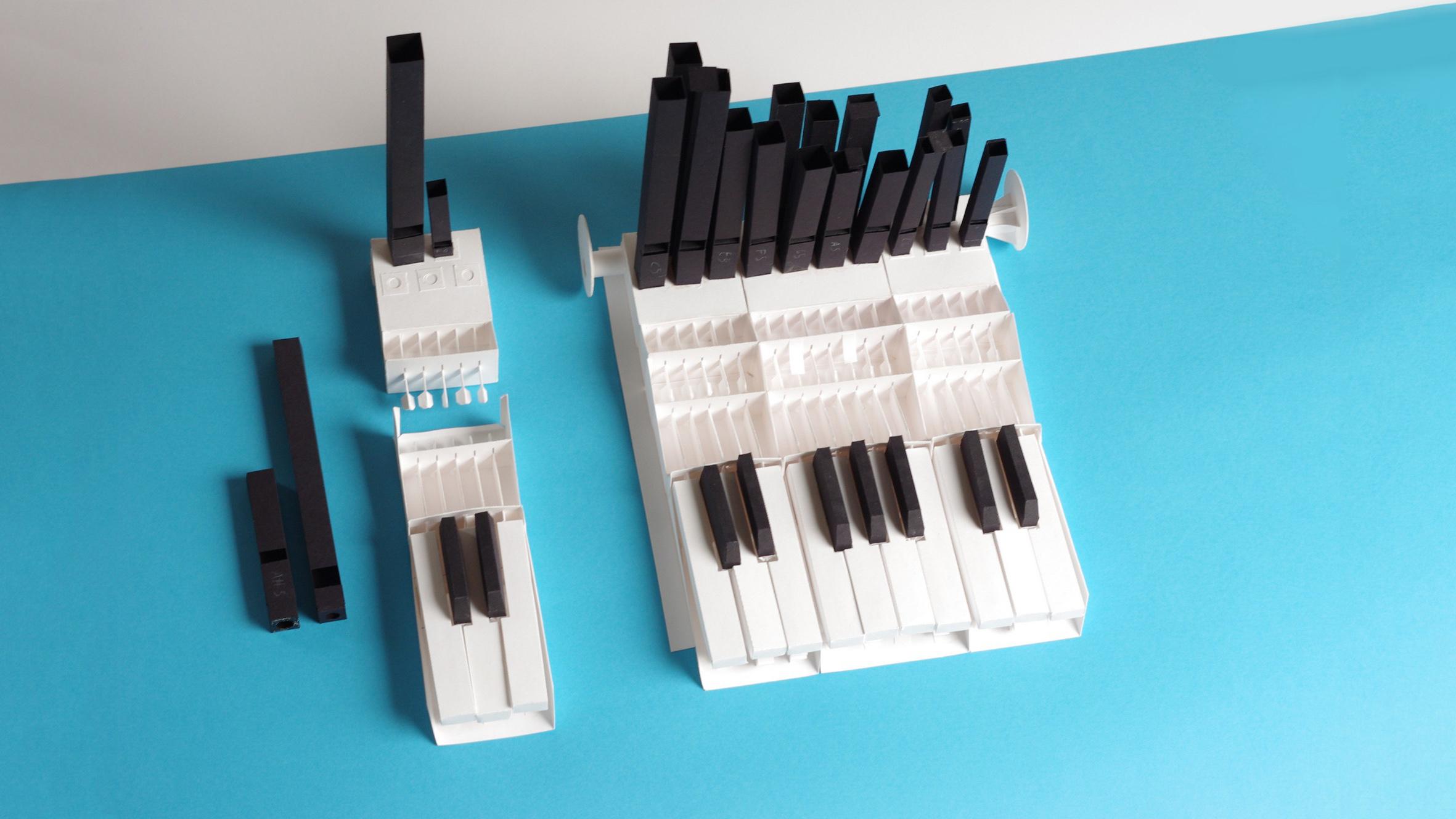 World's First Modular Paper Organ